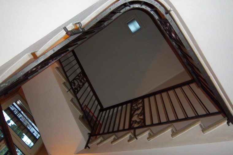 Staircase at our B & B - Stresa, Italy