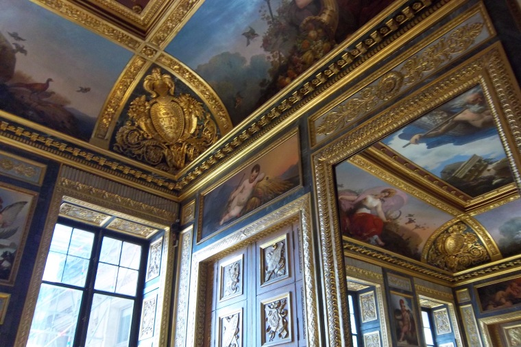 Ceilings in the Louvre Museum - Paris