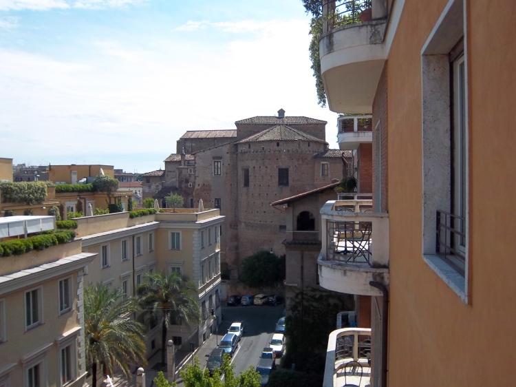 View from our Hotel Room In Rome