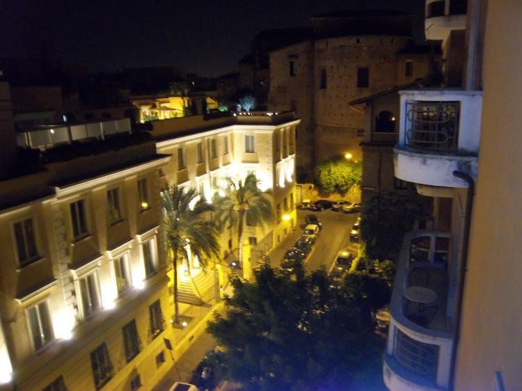 View at Night - Rome