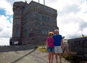 the warmest visit I can ever remember on Signal Hill
