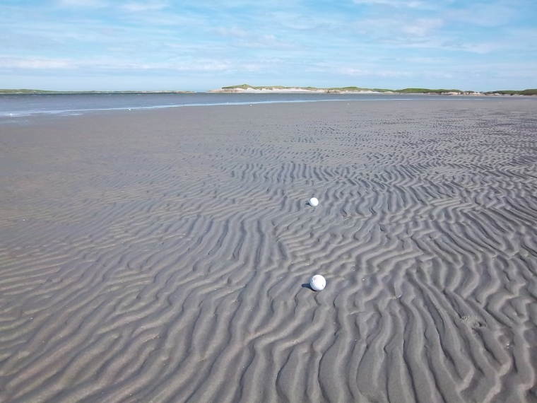 I love the sand ripples
