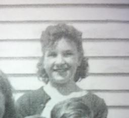 Mom as a schoolgirl