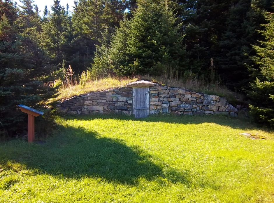 root cellars of Elliston, NL
