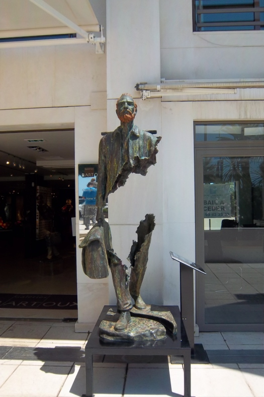 Cool Sculpture in Cannes, France