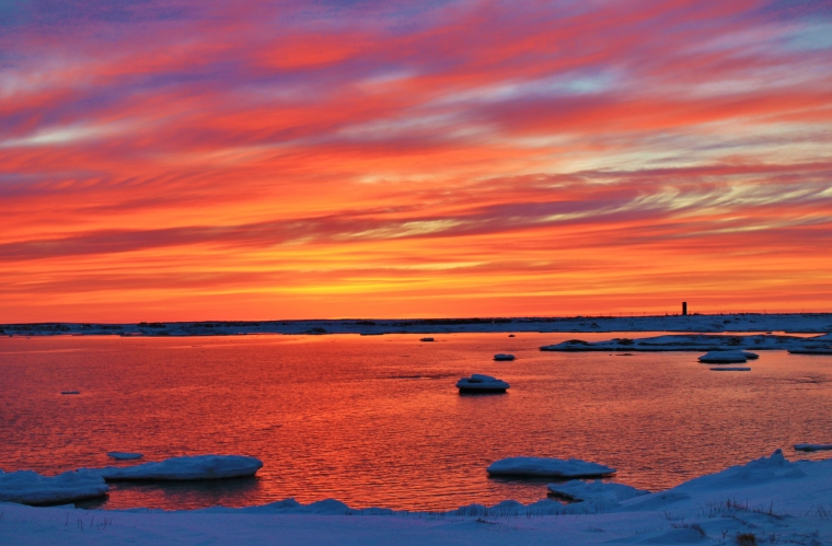 Sunset in Newfoundland, Canada