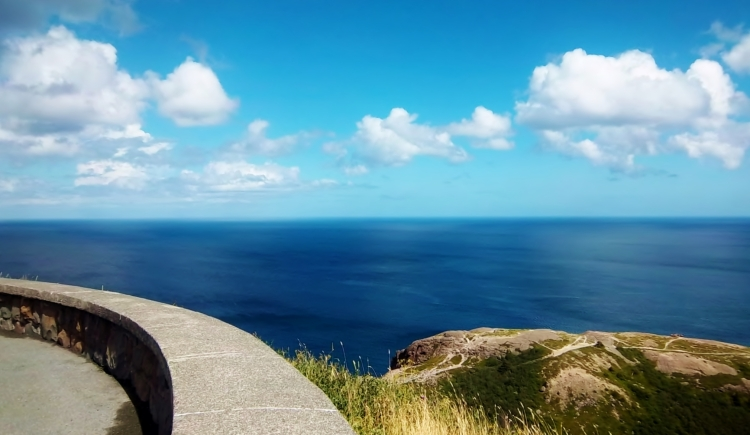 Beautiful view from Signal Hill, St. John's