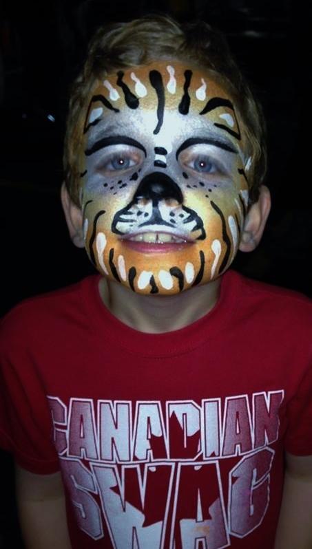 face-paint mask