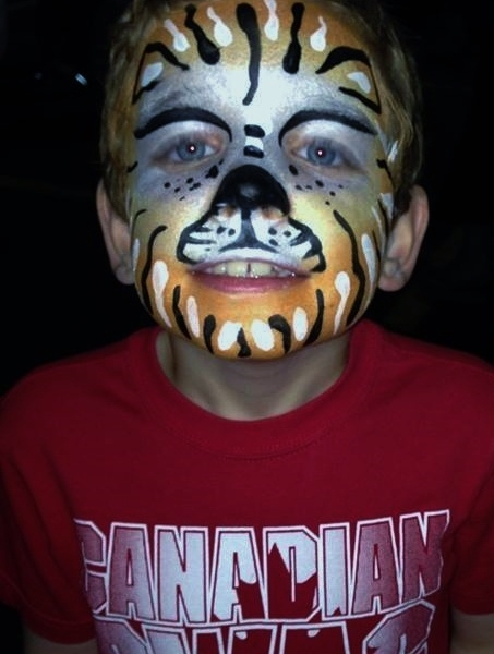 face-paint mask