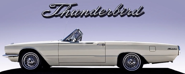 66 Thunderbird Convertible