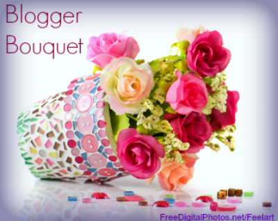 blogger bouquet spring