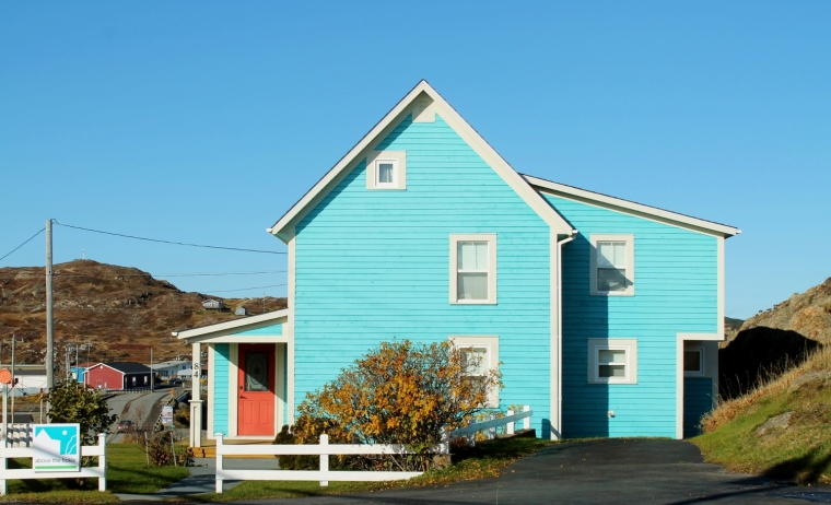 Plenty of B&B's, cottages and inns in Twillingate, mostly deserted in the off-season.