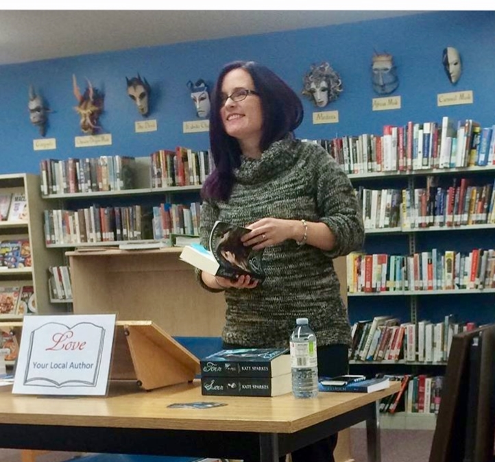 YA Fantasy author Kate Sparkes