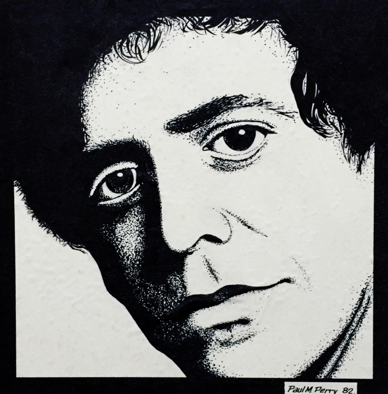 Lou Reed by Paul M. Perry