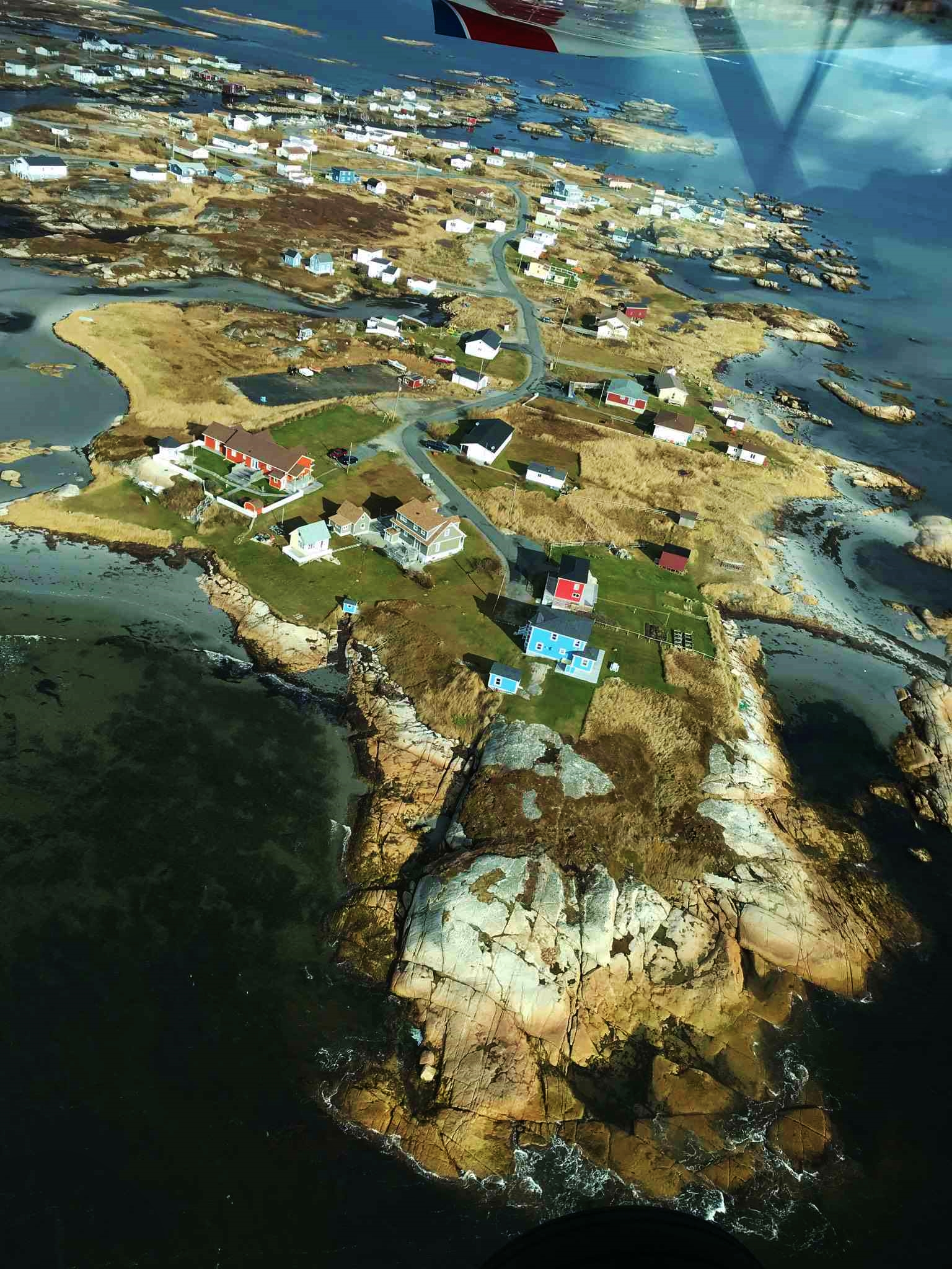 Aerial View of Perry's Point
