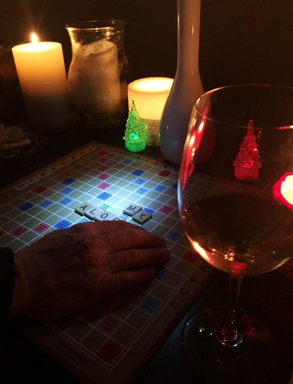 Scrabble by candleight